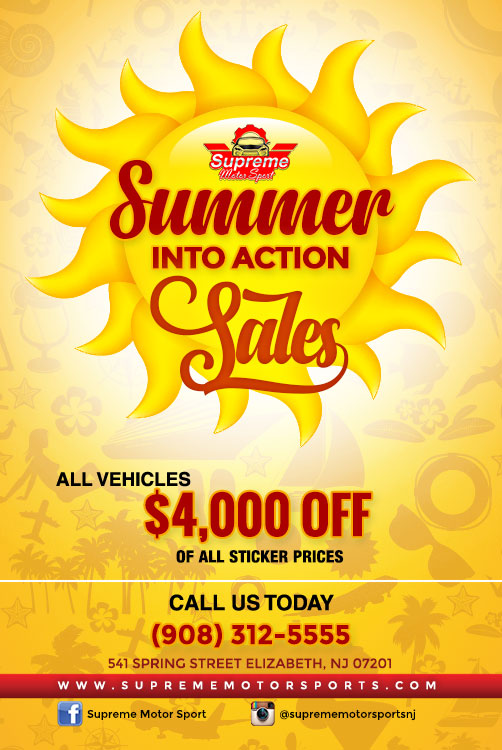 SUMMER INTO ACTION SALES